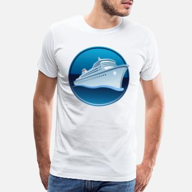 Cruise Ship Traveler - Men's Premium T-Shirt