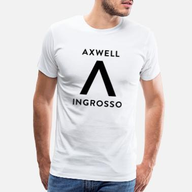 Swedish House Mafia Axwell Ingrosso (Black Text) - Men's Premium T-Shirt