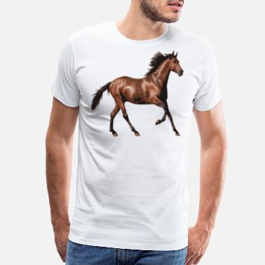 Beautiful Horse Beautiful horse - Men's Premium T-Shirt