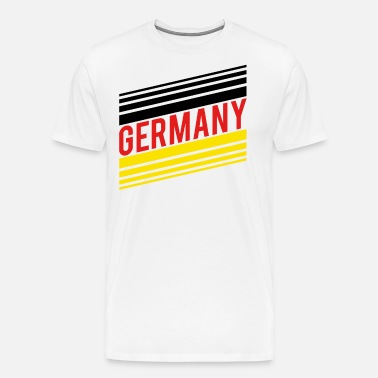 Germany soccer jersey 2018 german flag shirt Men s Premium T-Shirt ... 127edd2a6