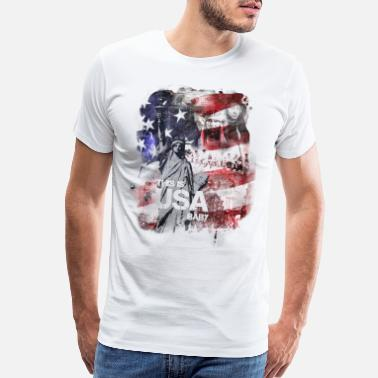 Usa USA - Men's Premium T-Shirt
