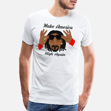 Stoner Make America High Again - Men's Premium T-Shirt