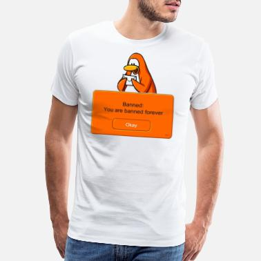 Club Penguin Club Penguin Banned - Men's Premium T-Shirt
