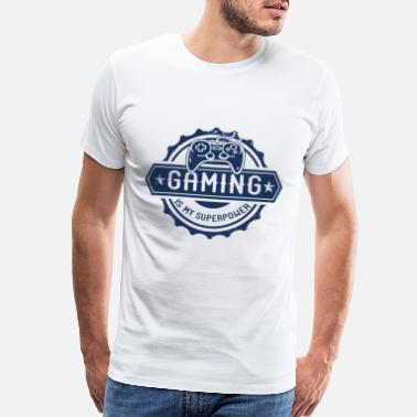 Pro Gamer E-Sports Gaming Computer Game Pro-Gamer PC Gamer - Men's Premium T-Shirt