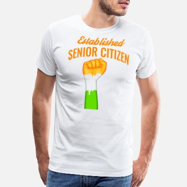 Senior Citizens india establish senior citizen design - Men's Premium T-Shirt