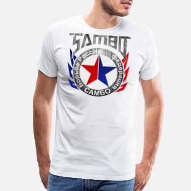 Federation SAMBO - Men's Premium T-Shirt