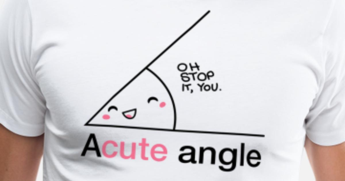 ACUTE ANGLE Men's Premium T-Shirt | Spreadshirt