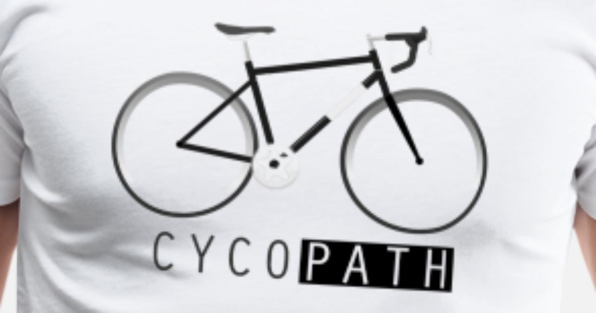 a7a792a5 Cycopath - funny Racing Bike Gift Men's Premium T-Shirt | Spreadshirt