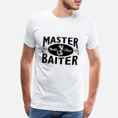 Fishing Fishing – Master baiter - Men's Premium T-Shirt