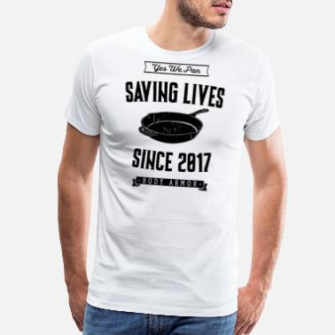 Pubg Yes We Pan PUBG Yes We Pan - Black - Men's Premium T-Shirt