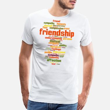Friendship Design friendship - Men's Premium T-Shirt
