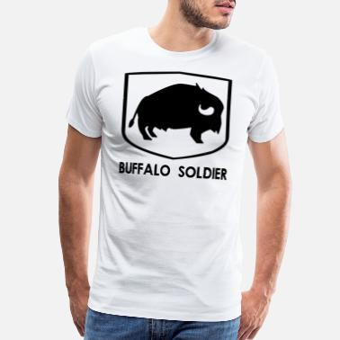 Dynasty BUFFALO SOLDIER (b) - Men's Premium T-Shirt