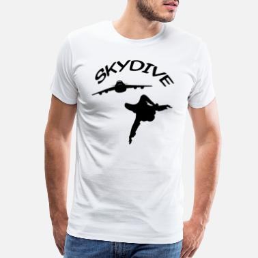 Free Fall Skydive Skydiver Free Fall Skydiving - Men's Premium T-Shirt