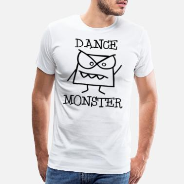 Dance Monster Dance Monster on the Disco Dancefloor 2 - Men's Premium T-Shirt