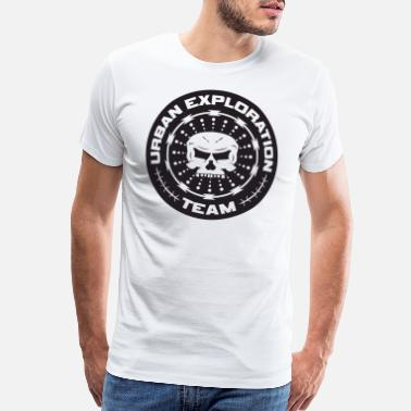Lost Place TEAM URBAN EXPLORATION - Men's Premium T-Shirt