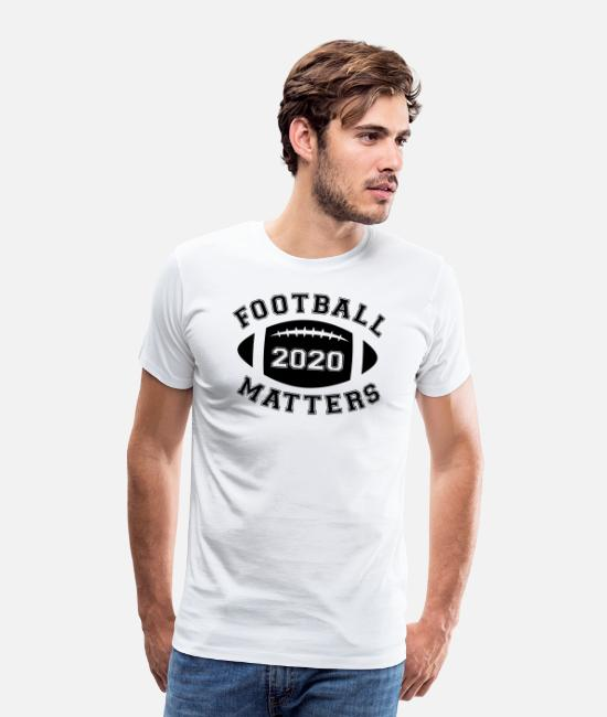 Black History T-Shirts - Football 2020 Matters Vintage Team Sports Gift - Men's Premium T-Shirt white