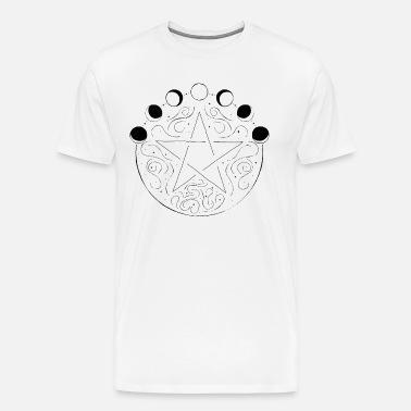 Pagan with Pentacle Mens Pagan T Shirt Sizes S-5XL