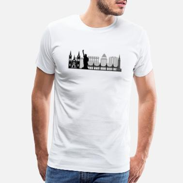 New York Times Square New York City - Limited Edition - Men's Premium T-Shirt