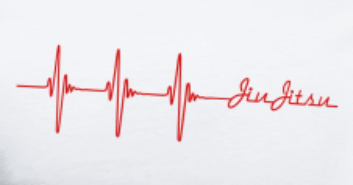 1c7dd0b14 Jiu-Jitsu Heart beat Men's Premium T-Shirt | Spreadshirt