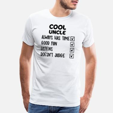 Cool Uncle COOL UNCLE - Men's Premium T-Shirt