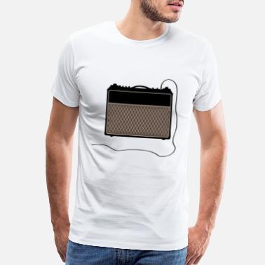 ebe0a2f78b6d5 Vox Guitar Amp - Men's Premium T-Shirt