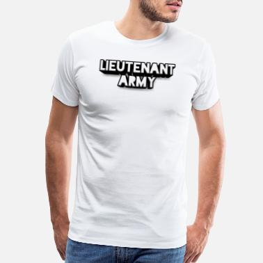 Colonel Lieutenant Army Logo - Men's Premium T-Shirt
