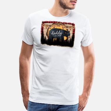 Christmas Daddy Bear - Men's Premium T-Shirt