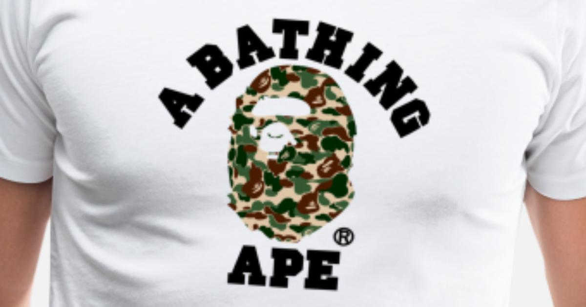 59916d0d BAPE A BATHING APE Men's Premium T-Shirt | Spreadshirt