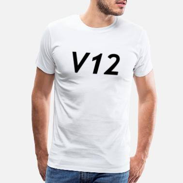 Supercar v12 - Men's Premium T-Shirt
