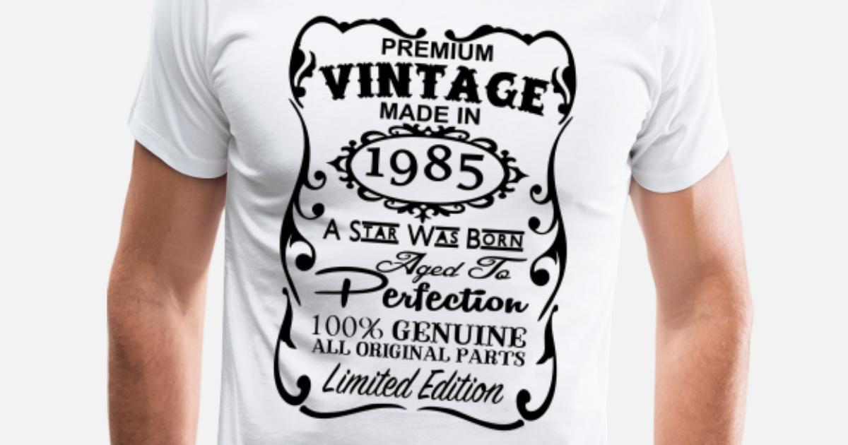 32nd Birthday Gift Ideas For Men And Women Unique Mens Premium T Shirt