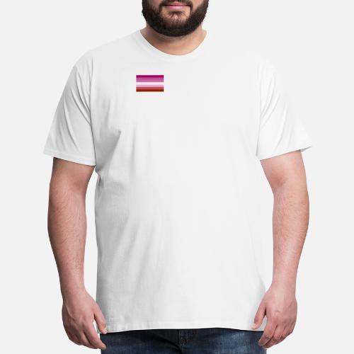 063901b3e34 Gay Pride LGBT Lipstick Lesbian Rainbow Flag Men s Premium T-Shirt ...