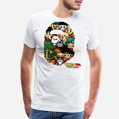 Bape Dragon Ball x Bape - Men's Premium T-Shirt