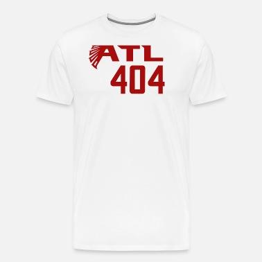 958fb68c7 ATL 404 Atlanta Falcons Men s Premium T-Shirt