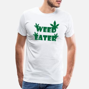 Smoke Hash KING WEED DRUGS CANNABIS GIFT - Men's Premium T-Shirt