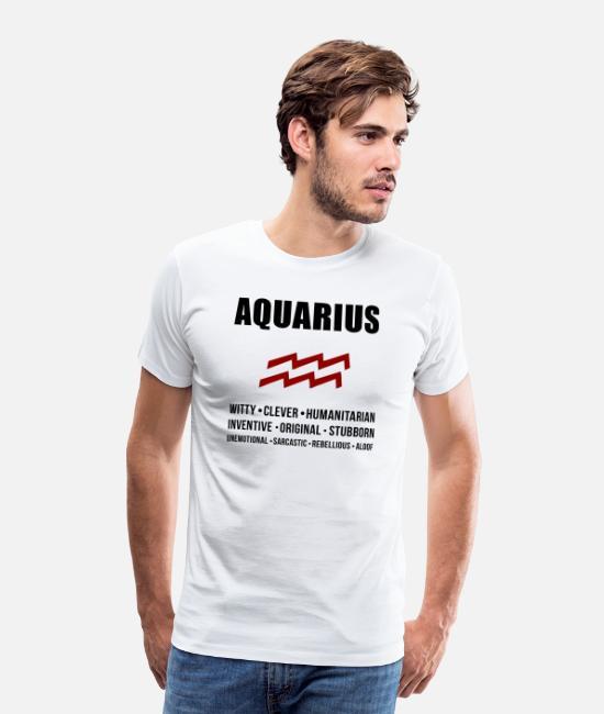Unisex T-Shirt,Signs of The Zodiac Fashion Personality Customization