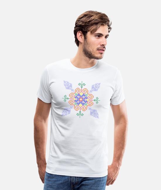 Iu Mien Embroidery Men S Premium T Shirt Spreadshirt