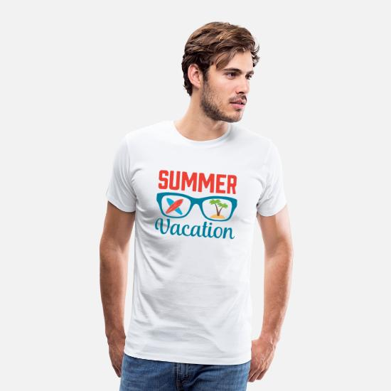 Summer Vacation T-Shirts - Summer vacation - Men's Premium T-Shirt white