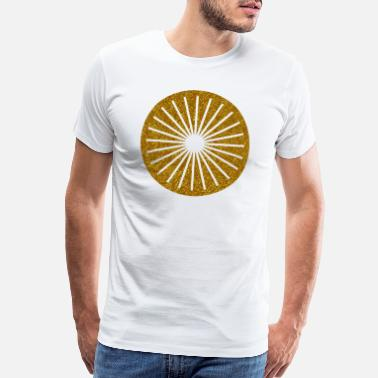Owned CIRCLES KREISE GOLD 17 - Men's Premium T-Shirt