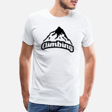Boulder time to climb - Men's Premium T-Shirt
