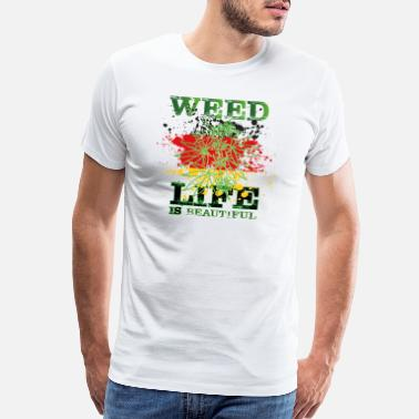 Pot Life weed- dope - Men's Premium T-Shirt