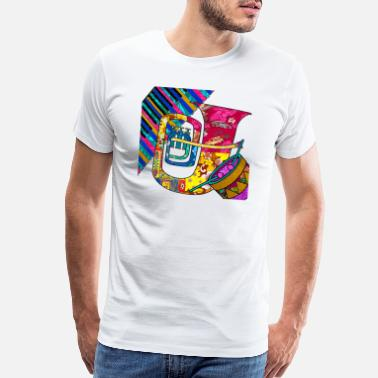 60s Retro Music Groove - Men's Premium T-Shirt