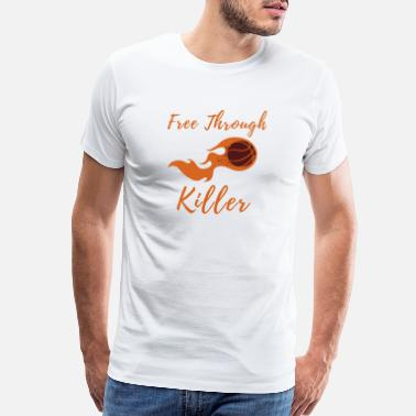 Slam Dunk Free Through Killer - Men's Premium T-Shirt