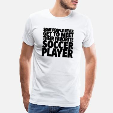 Soccer Soccer Player - Men's Premium T-Shirt