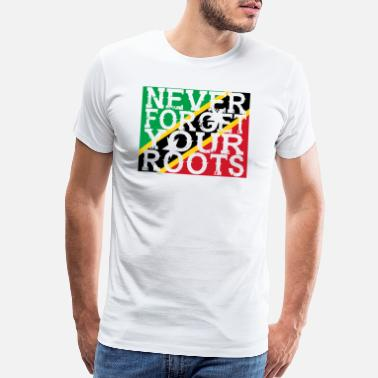 St Kitts never forget roots home St Kitts und Nevis - Men's Premium T-Shirt