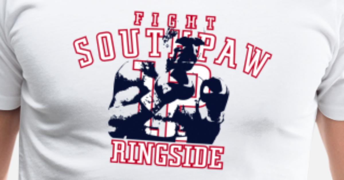 Fight southpaw ringside Men's Premium T-Shirt | Spreadshirt