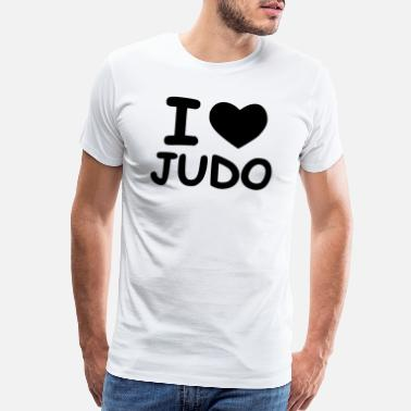 Punching time for judo - Men's Premium T-Shirt