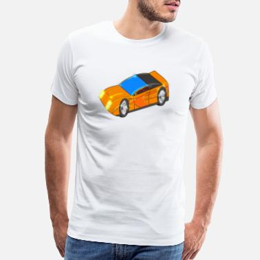 Speedway Sport Car - Men's Premium T-Shirt