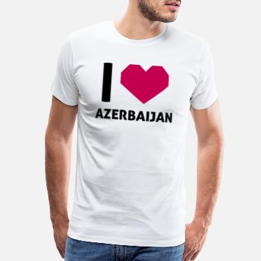 I Love Azerbaijan Shirt I Love Azerbaijan - Men's Premium T-Shirt