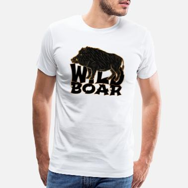 Boar Game wild boar- game, MMO - Men's Premium T-Shirt