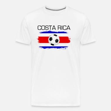 79ae782681e Football Soccer Costa Rica Fan Flag Gift Men s Premium T-Shirt ...